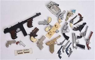 Collection 1950's Cap Guns