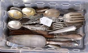 Sterling Silver Flatware and Souvenir Spoons