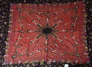 Two Victorian Paisley Shawls