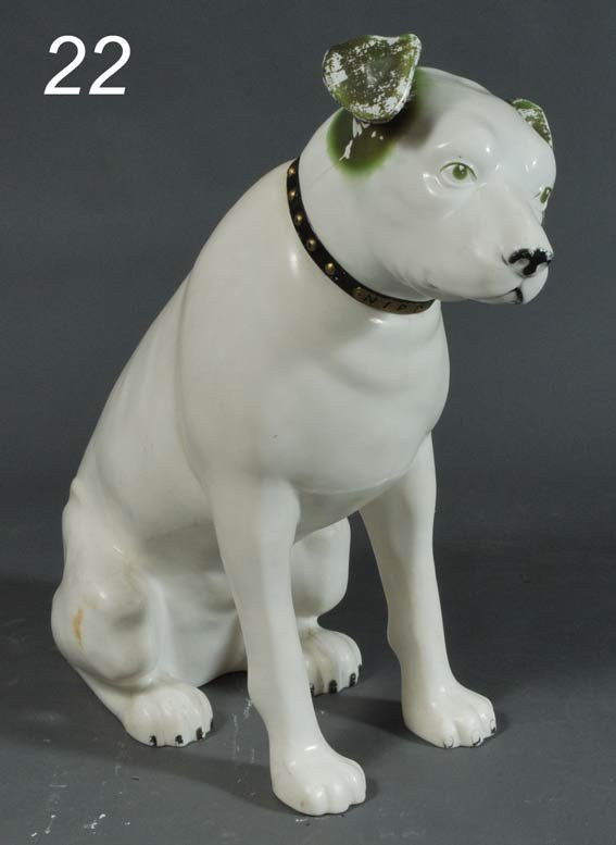 "22: NIPPER DOG TRADE FIGURE 36"" high"