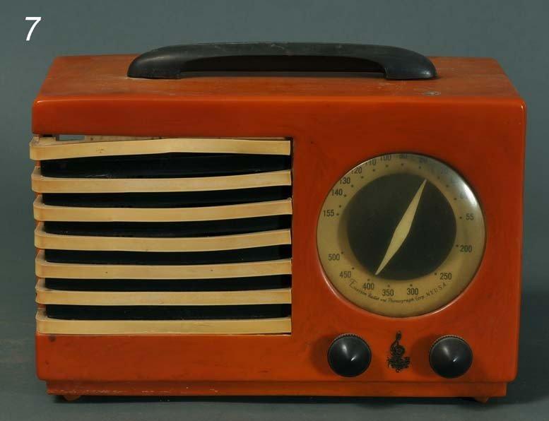 """7: EMERSON """"ARISTOCRAT"""" CATILIN RADIO butterscotch body"""