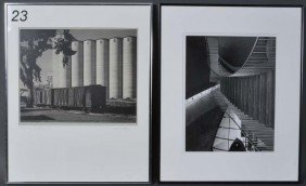 23: TWO ART PHOTOGRAPHS pencil signed Willcox and Zarat
