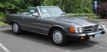 100: 1985 MERCEDES 380SL with hard top 118,000 miles cl