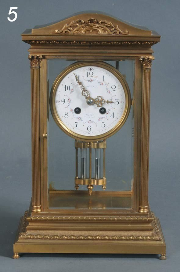 5: FRENCH CRYSTAL REGULATOR retailed by Tiffany & Co. 1