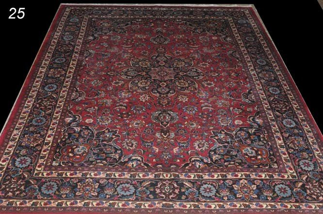 23: PERSIAN MESHED CARPET 8'x11'   Shipping Information