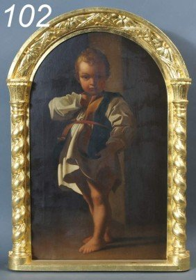 AFTER BARTOLOMEO SCHEDONI The Beggar Boy (a Figure