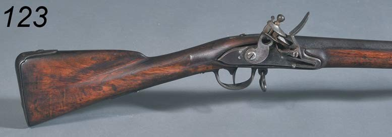 """123: CHARLOTTEVILLE REVOLUTIONARY WAR MUSKET with """"US"""""""