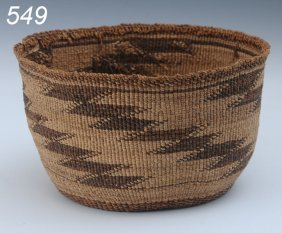"HUPA BASKET With Serrated Design, 7 1/2"" Diameter"