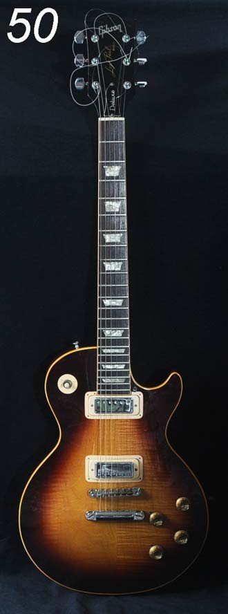 50: GIBSON ELECTRIC GUITAR Les Paul Deluxe, 1973