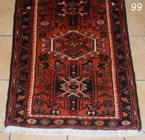 "PERSIAN KARRAJEH CARPET 2'5""x 9'6""   Shipping Infor"