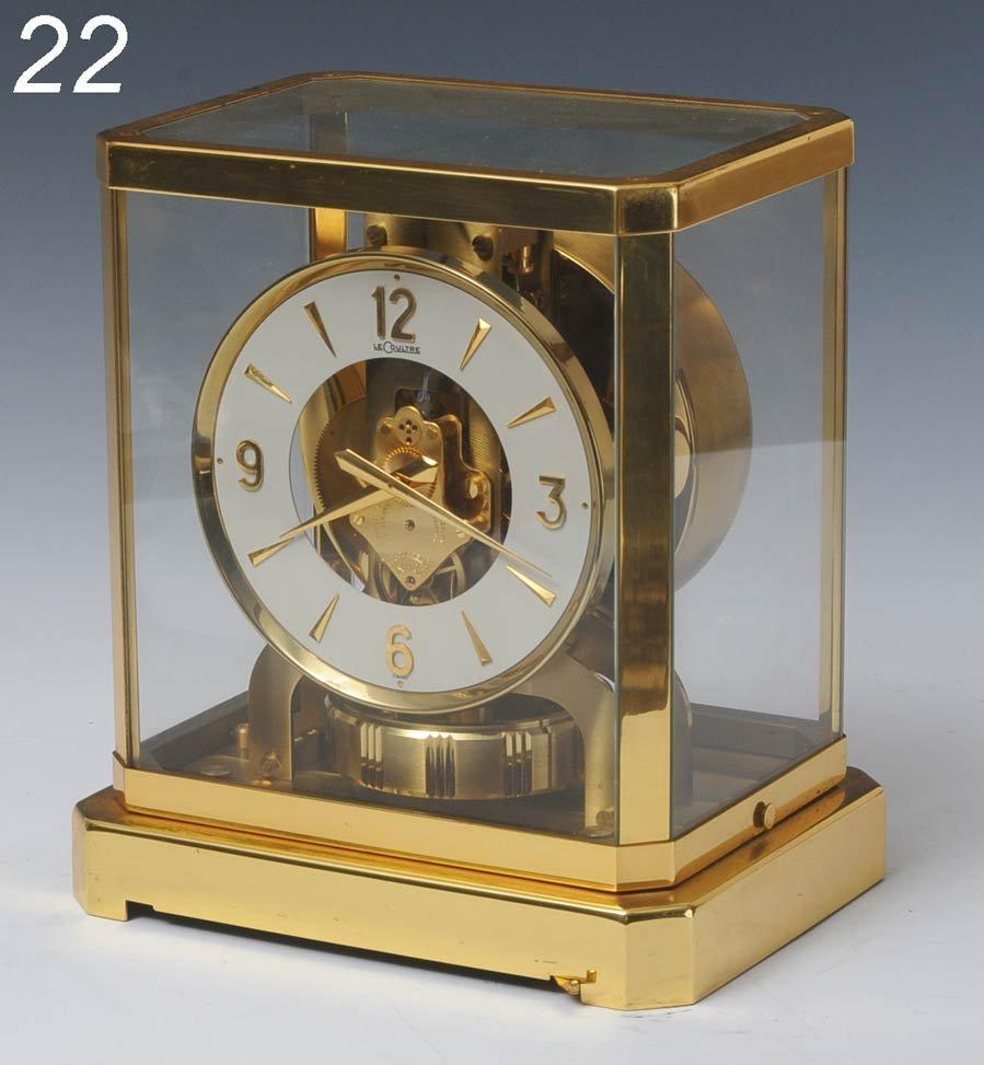 22: LECOULTRE ATMOS CLOCK serial #184593   Shipping Inf