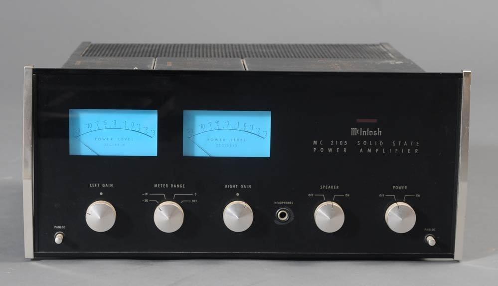 71: MCINTOSH MC 2105 AMP, C28 PRE-AMP, AND MR78 TUNER - 2