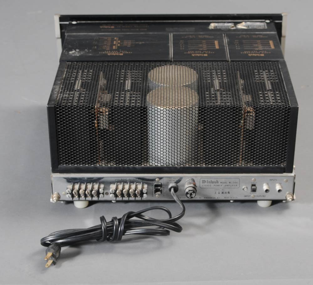 71: MCINTOSH MC 2105 AMP, C28 PRE-AMP, AND MR78 TUNER - 3