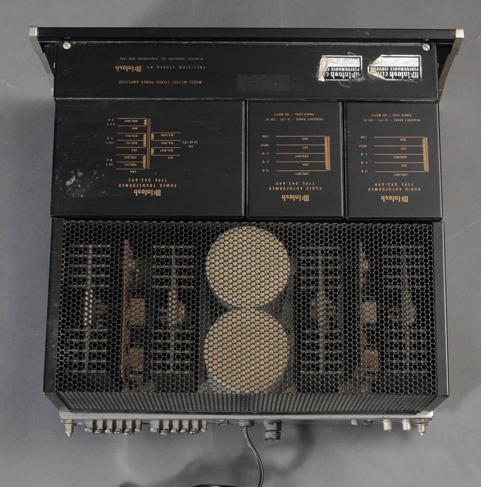 71: MCINTOSH MC 2105 AMP, C28 PRE-AMP, AND MR78 TUNER - 4