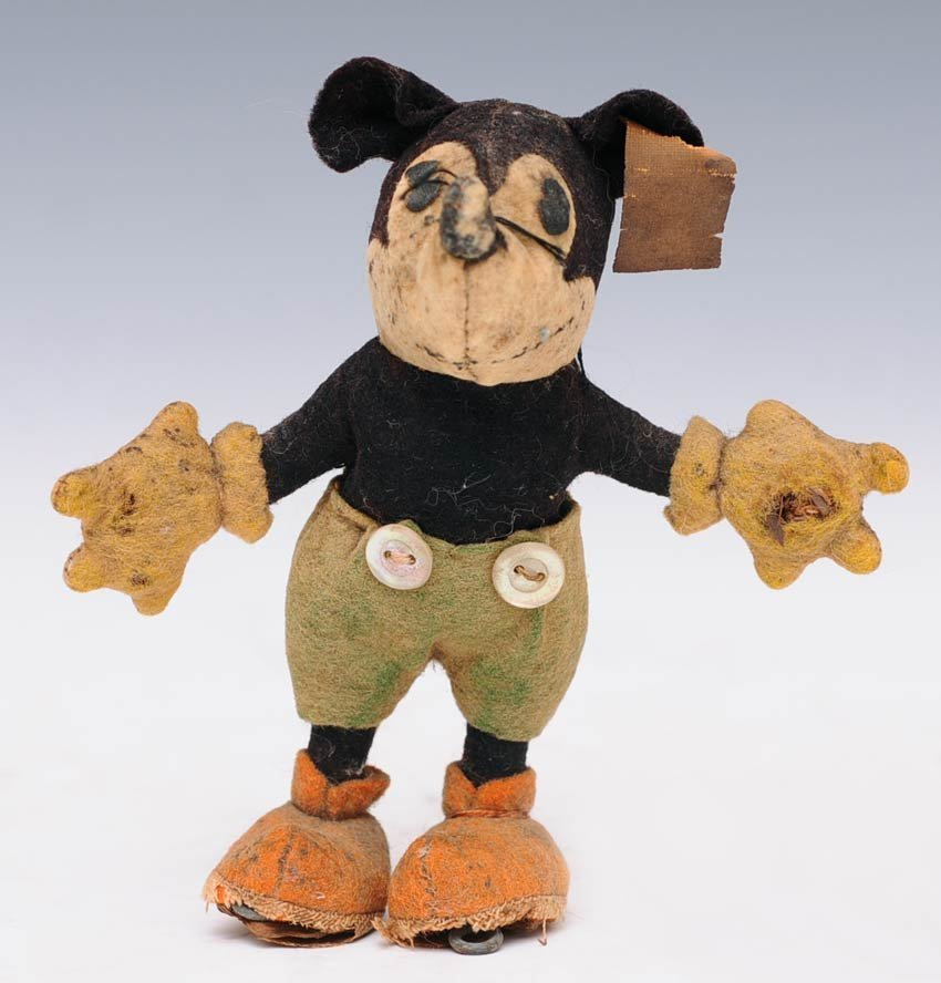 6: Early Miniature Steiff Mickey Mouse