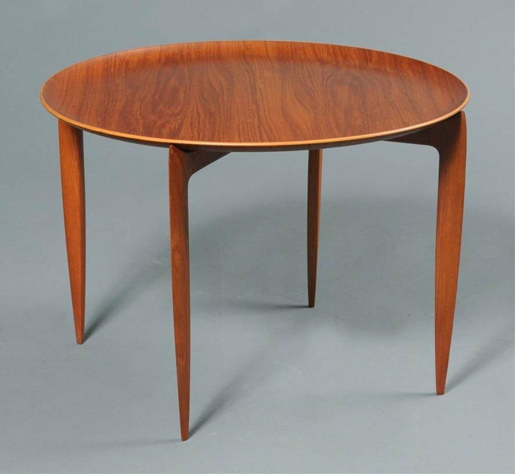 15: Fritz Hansen Danish Tray Table