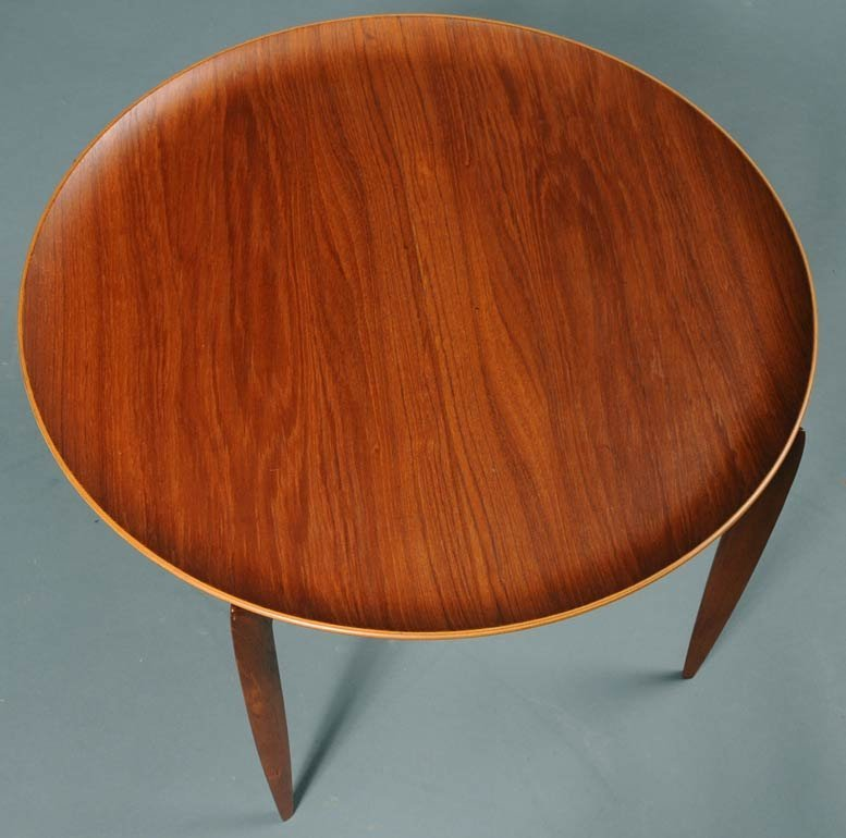 15: Fritz Hansen Danish Tray Table - 2