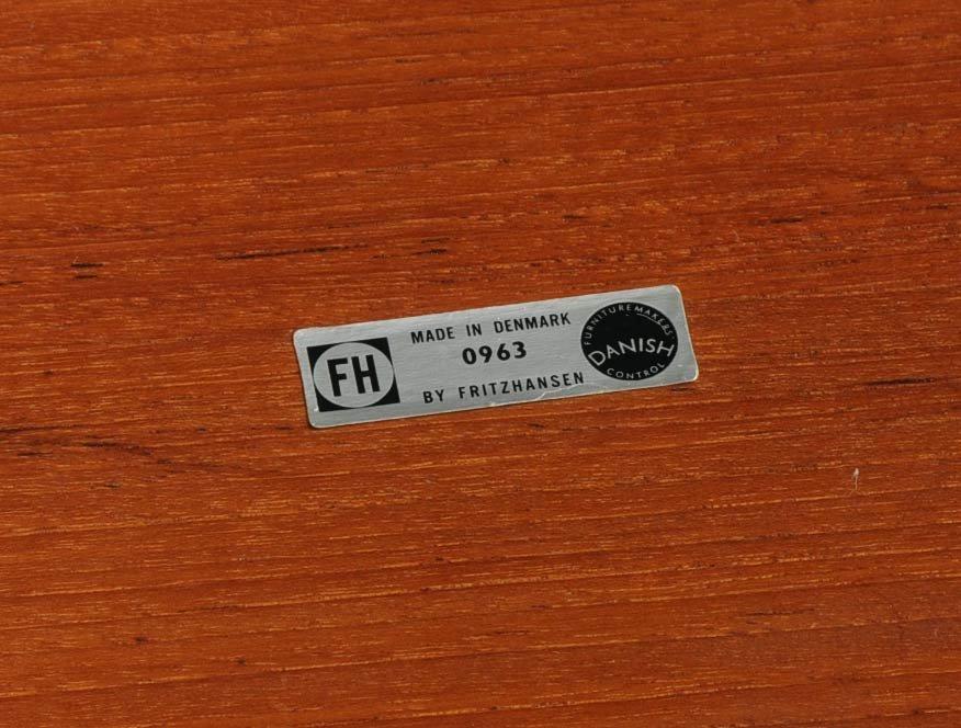 15: Fritz Hansen Danish Tray Table - 3