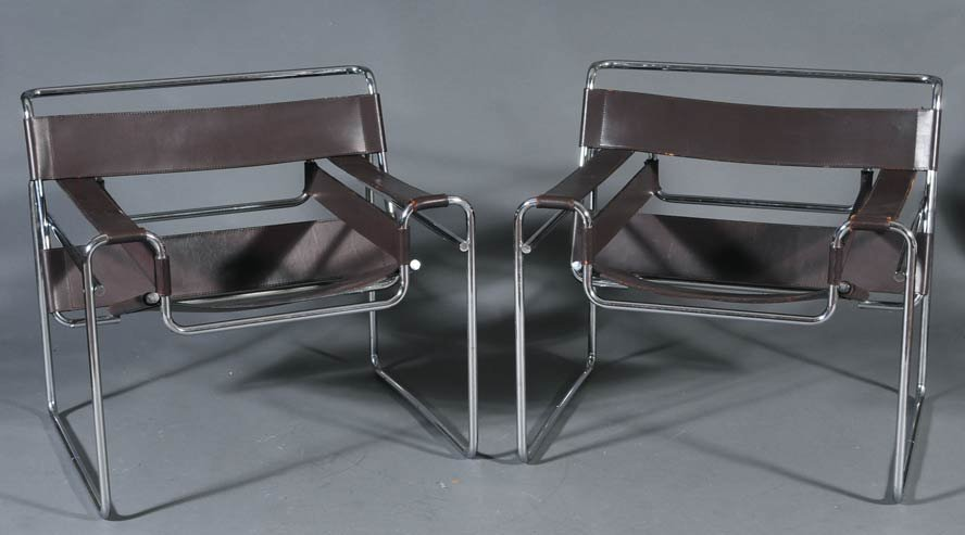 19: Pair of Knoll Wassily Chairs