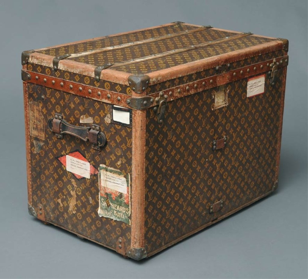 22: Louis Vuitton Travel Trunk