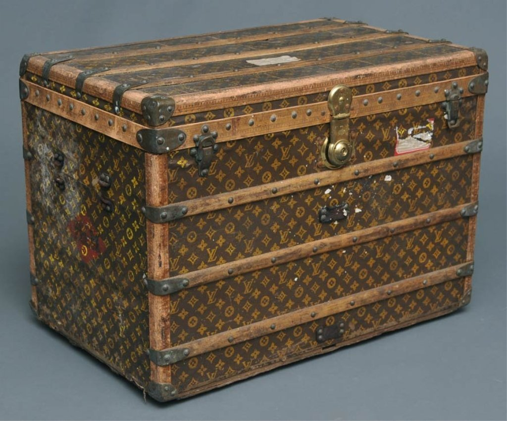 23: Louis Vuitton Travel Trunk