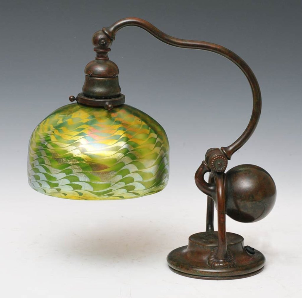 34: Tiffany Counterbalance Desk Lamp