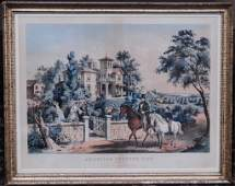 466 Currier and Ives Lithograph