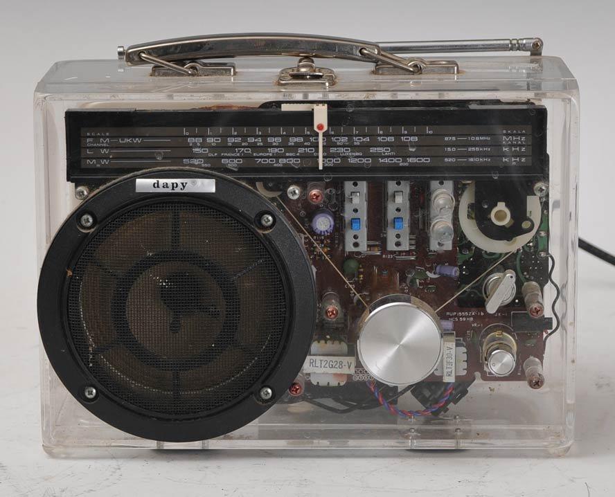 "2: French ""Lunch Box"" Radio"