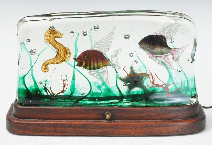 3: Murano Glass Aquarium Lamp