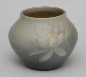 Rookwood Sculpted Vase