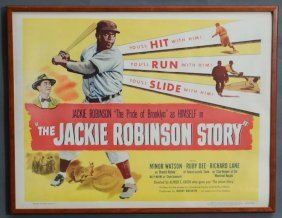 7: Jackie Robinson Movie Poster
