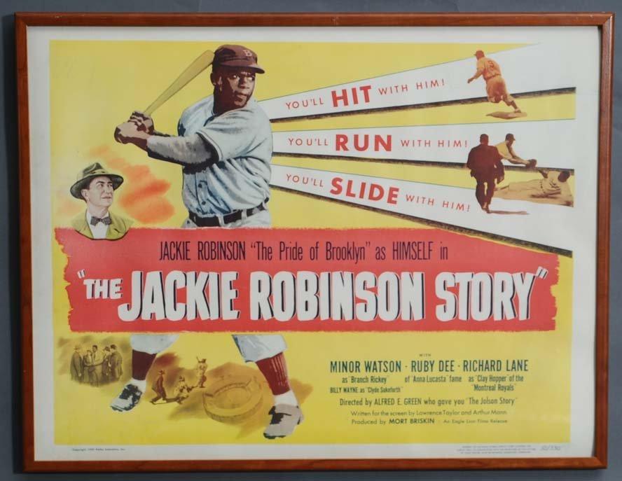 7: Jackie Robinson Movie Poster