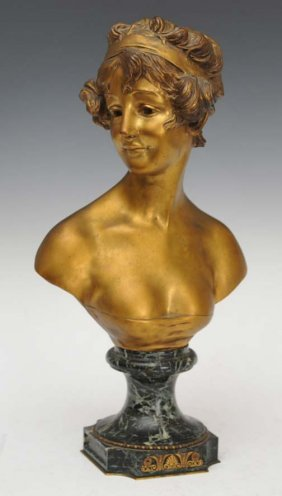 12: Bronze Bust Of A Maiden