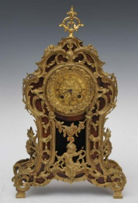 Louix XV Style Mantel Clock