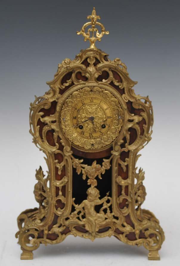 13: Louix XV Style Mantel Clock