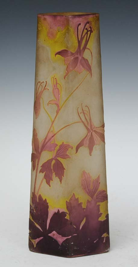16: Galle Cameo Glass Vase