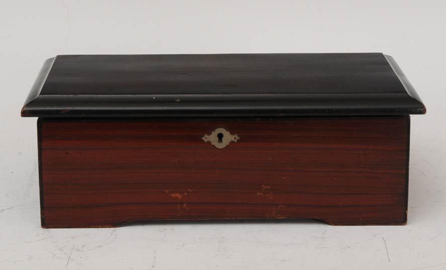21: Swiss Victorian Cylinder Music Box
