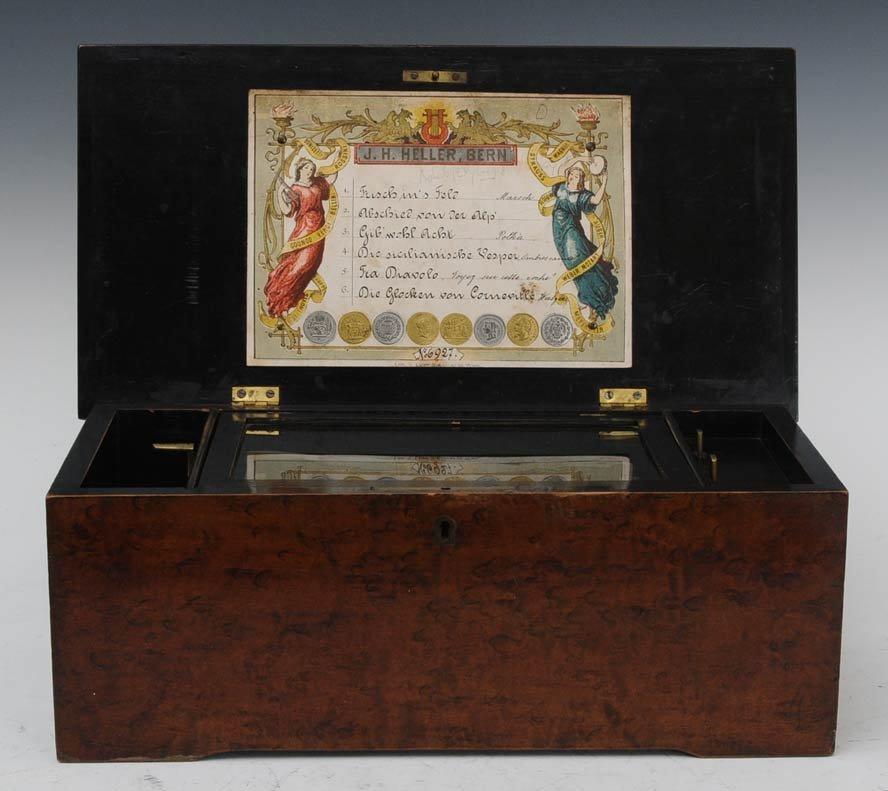 22: Victorian Swiss Cylinder Music Box