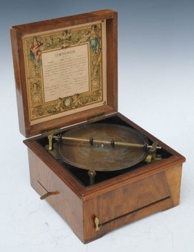 23: Symphonium Disc Music Box