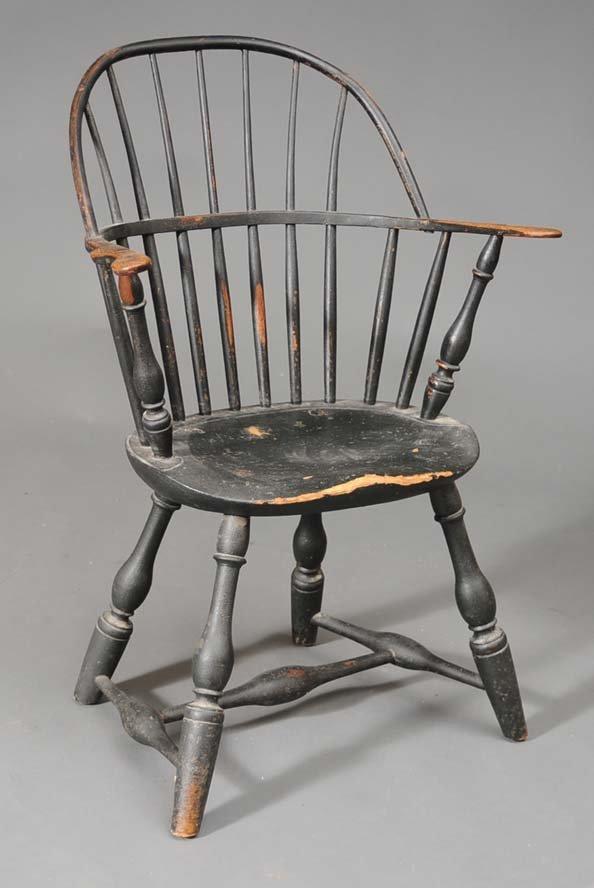 104: Windsor Sack Back Arm Chair