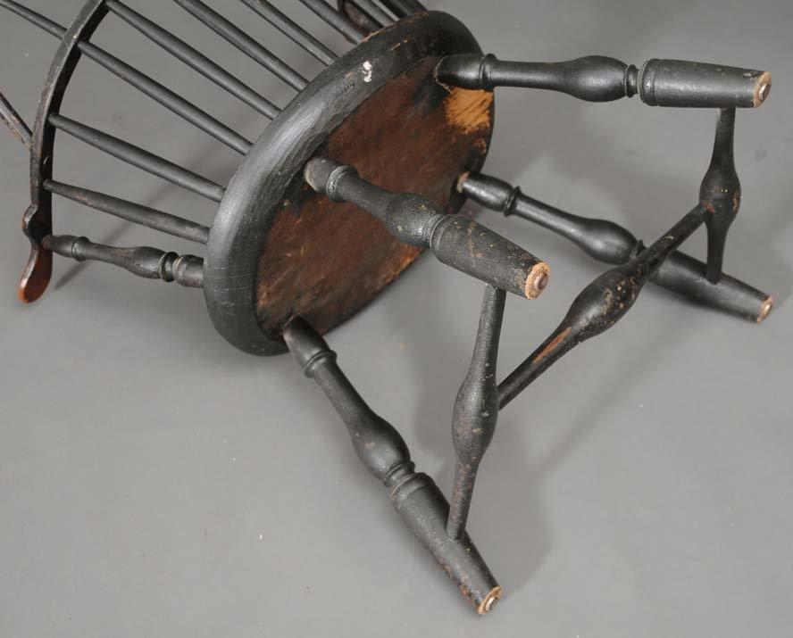 104: Windsor Sack Back Arm Chair - 4