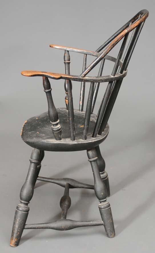 104: Windsor Sack Back Arm Chair - 5