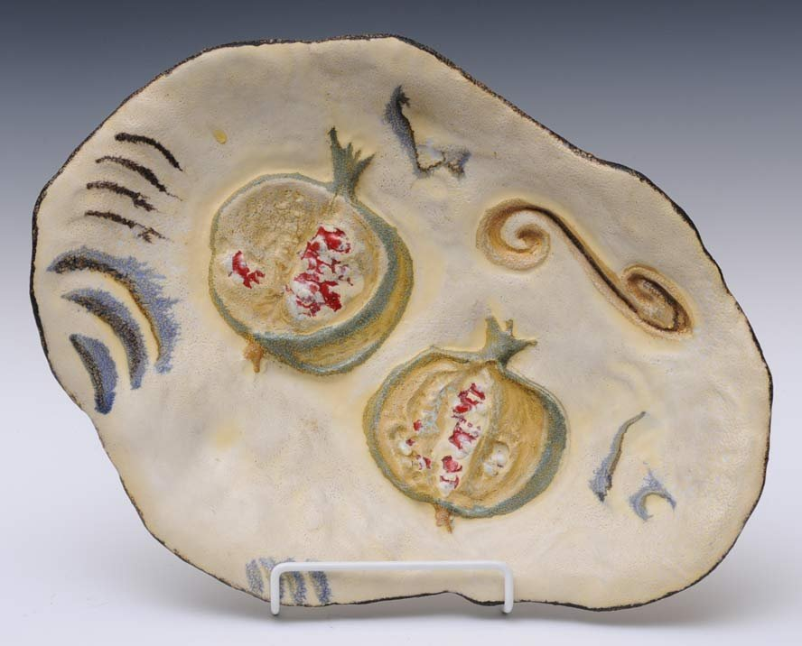 Marcello Fantoni Ceramic Platter