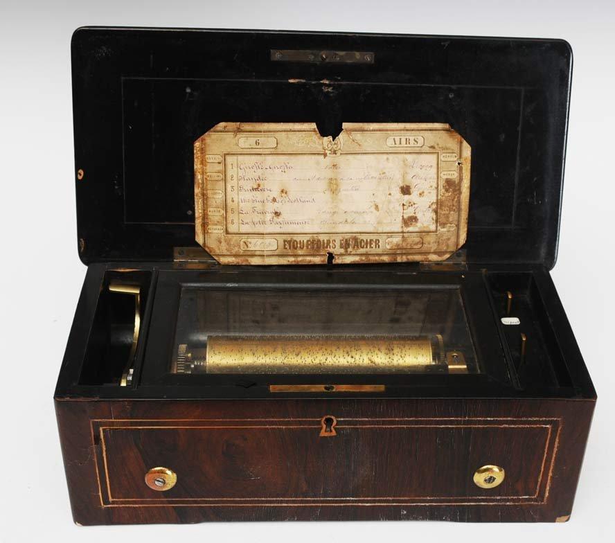 Victorian Cylinder Music Box