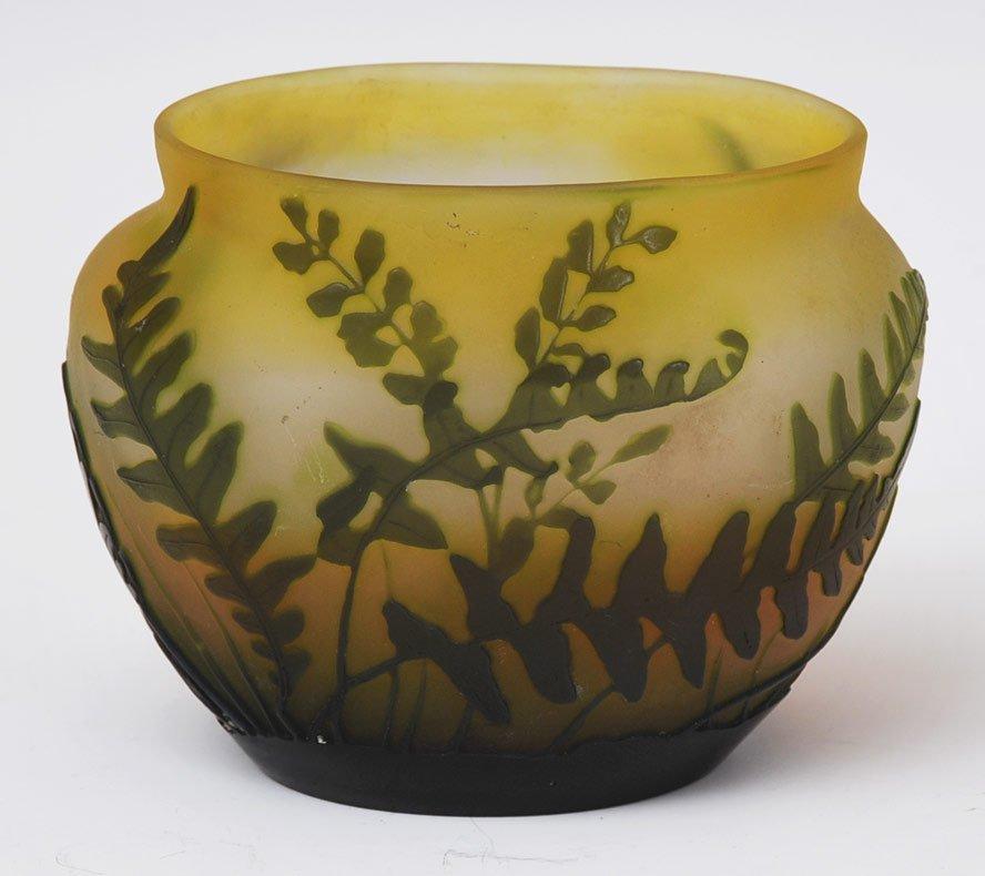 Galle Art Glass Vase
