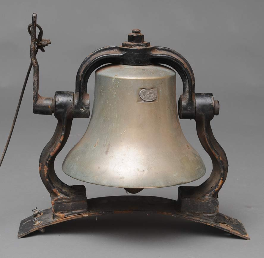 New York Central Locomotive Bell