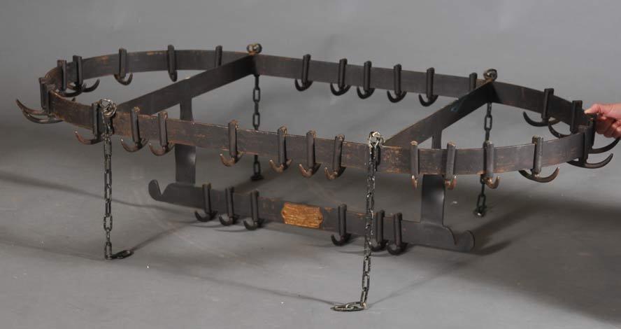 Iron Butcher's Rack