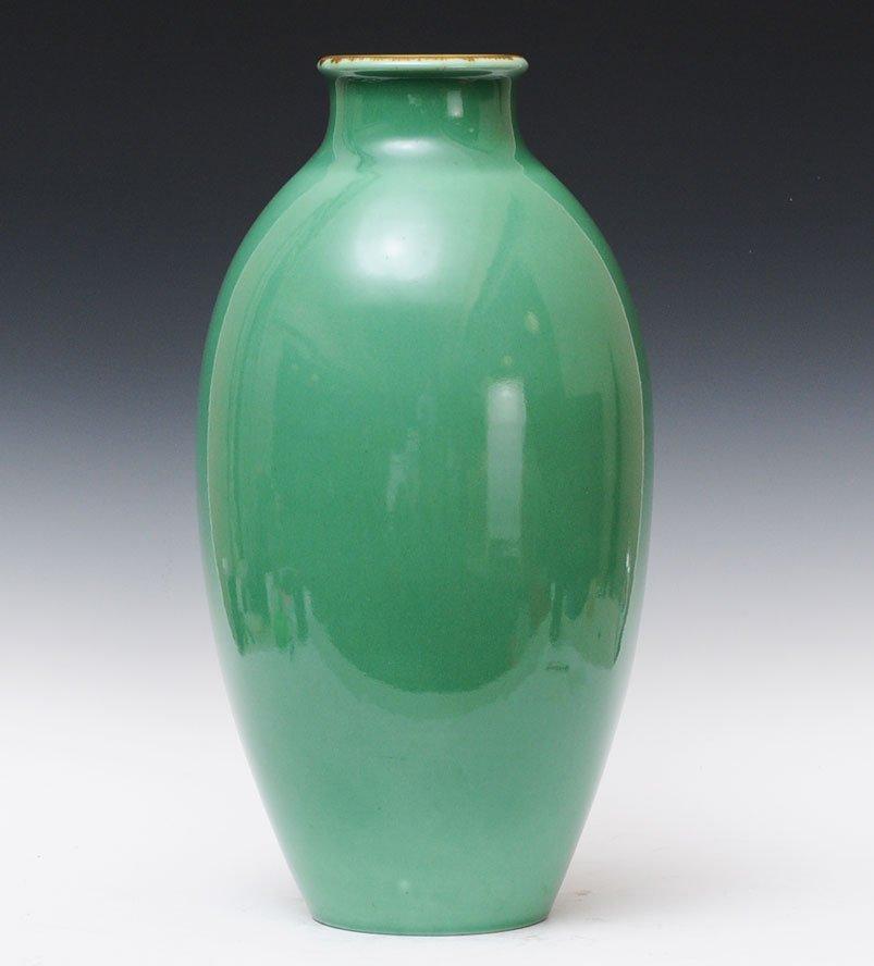 Green Rookwood Floor Vase