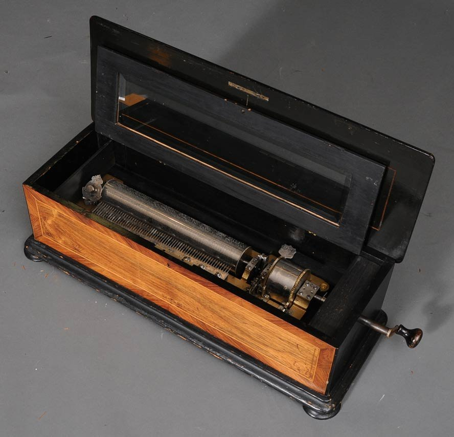Mermod Freres Cylinder Twelve Tune Music Box