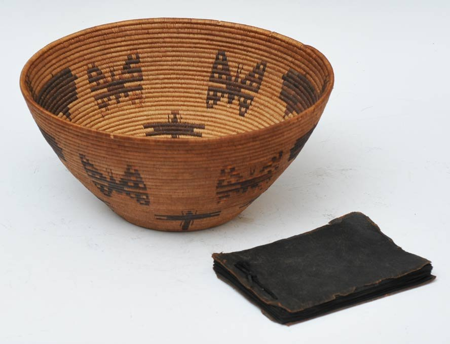 Panamint Pictorial Basket